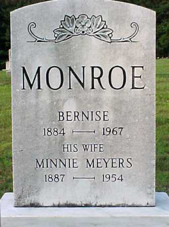 MONROE, BERNISE - Warren County, New York | BERNISE MONROE - New York Gravestone Photos