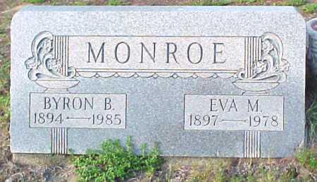 MONROE, BYRON B - Warren County, New York | BYRON B MONROE - New York Gravestone Photos