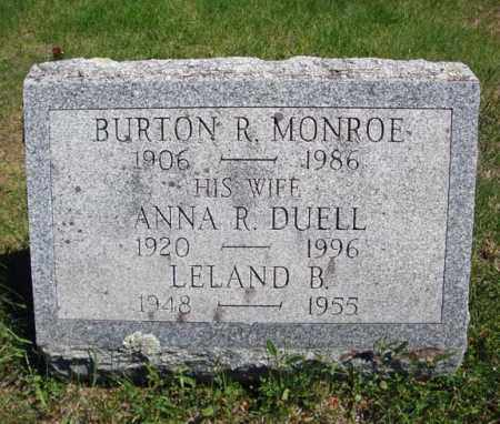 MONROE, ANNA R - Warren County, New York | ANNA R MONROE - New York Gravestone Photos
