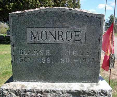 MONROE, GLADYS B - Warren County, New York | GLADYS B MONROE - New York Gravestone Photos