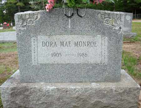 MONROE, DORA MAE - Warren County, New York | DORA MAE MONROE - New York Gravestone Photos