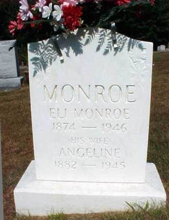 MONROE, ANGELINE - Warren County, New York | ANGELINE MONROE - New York Gravestone Photos