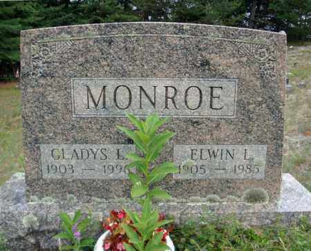 MONROE, GLADYS L - Warren County, New York | GLADYS L MONROE - New York Gravestone Photos