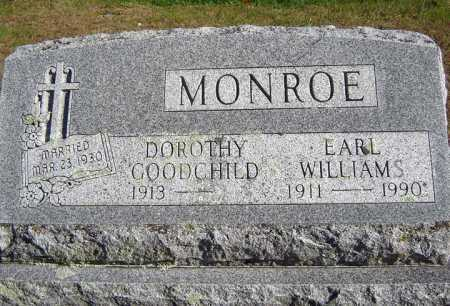 MONROE, DOROTHY - Warren County, New York | DOROTHY MONROE - New York Gravestone Photos