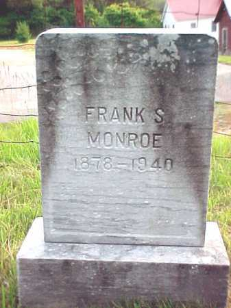 MONROE, FRANK S - Warren County, New York | FRANK S MONROE - New York Gravestone Photos