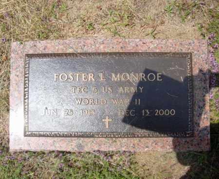 MONROE, FOSTER L - Warren County, New York   FOSTER L MONROE - New York Gravestone Photos