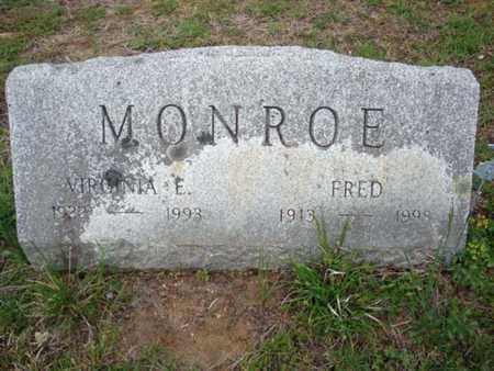MONROE, FRED - Warren County, New York | FRED MONROE - New York Gravestone Photos