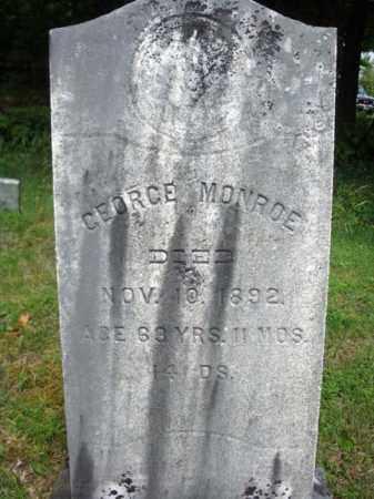 MONROE, GEORGE - Warren County, New York | GEORGE MONROE - New York Gravestone Photos