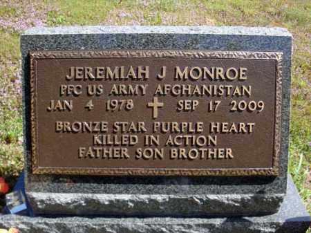 MONROE, JEREMIAH J - Warren County, New York   JEREMIAH J MONROE - New York Gravestone Photos