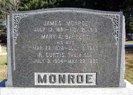 MONROE, JAMES - Warren County, New York | JAMES MONROE - New York Gravestone Photos