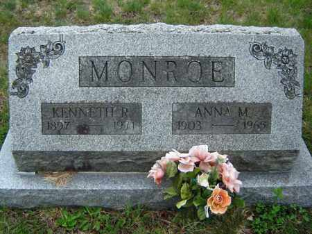 MONROE, KENNETH R - Warren County, New York | KENNETH R MONROE - New York Gravestone Photos