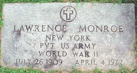 MONROE, LAWRENCE - Warren County, New York   LAWRENCE MONROE - New York Gravestone Photos