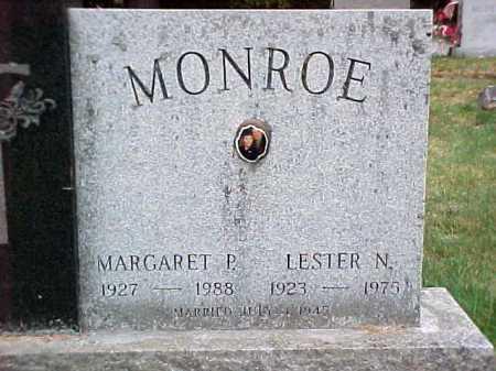 MONROE, LESTER N - Warren County, New York | LESTER N MONROE - New York Gravestone Photos