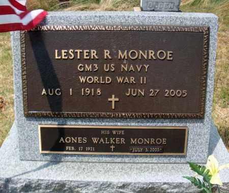 MONROE, AGNES - Warren County, New York | AGNES MONROE - New York Gravestone Photos