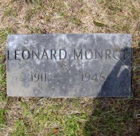 MONROE, LEONARD - Warren County, New York | LEONARD MONROE - New York Gravestone Photos