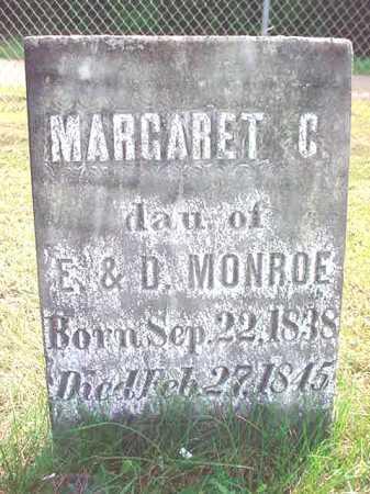 MONROE, MARGARET C - Warren County, New York   MARGARET C MONROE - New York Gravestone Photos