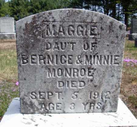 MONROE, MAGGIE - Warren County, New York | MAGGIE MONROE - New York Gravestone Photos