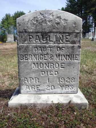 MONROE, PAULINE - Warren County, New York | PAULINE MONROE - New York Gravestone Photos