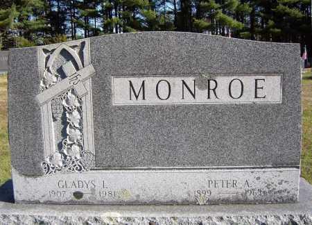 MONROE, PETER A - Warren County, New York | PETER A MONROE - New York Gravestone Photos