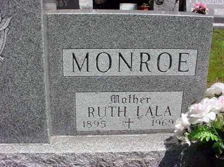 MONROE, RUTH LALA - Warren County, New York | RUTH LALA MONROE - New York Gravestone Photos