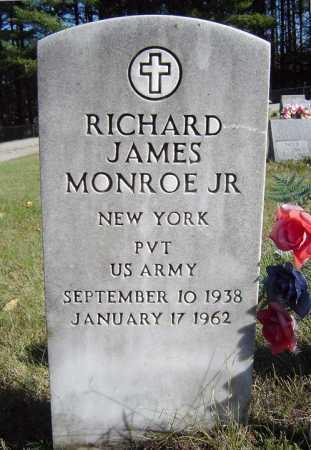 MONROE, RICHARD JAMES JR - Warren County, New York | RICHARD JAMES JR MONROE - New York Gravestone Photos