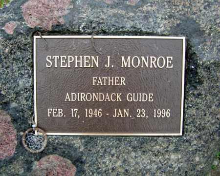 MONROE, STEPHEN J - Warren County, New York | STEPHEN J MONROE - New York Gravestone Photos