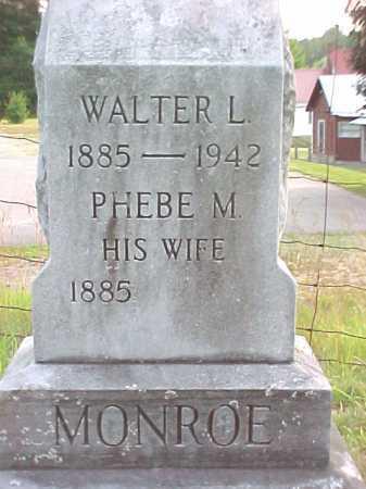 MONROE, WALTER L - Warren County, New York | WALTER L MONROE - New York Gravestone Photos