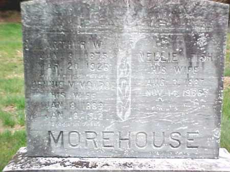 MOREHOUSE, NELLIE - Warren County, New York | NELLIE MOREHOUSE - New York Gravestone Photos