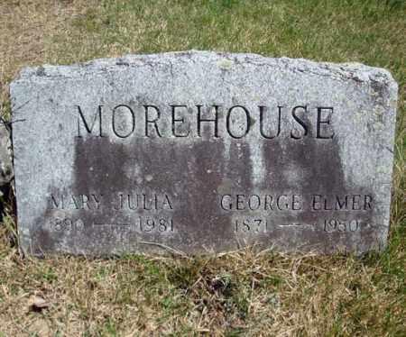 MOREHOUSE, GEORGE ELMER - Warren County, New York | GEORGE ELMER MOREHOUSE - New York Gravestone Photos