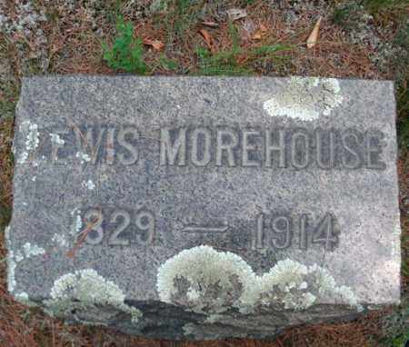 MOREHOUSE, LEWIS - Warren County, New York | LEWIS MOREHOUSE - New York Gravestone Photos