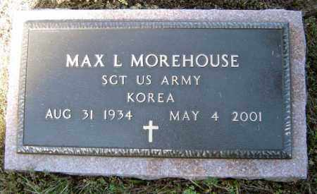 MOREHOUSE, MAX L - Warren County, New York | MAX L MOREHOUSE - New York Gravestone Photos