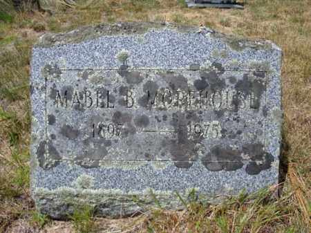 MOREHOUSE, MABEL B - Warren County, New York | MABEL B MOREHOUSE - New York Gravestone Photos