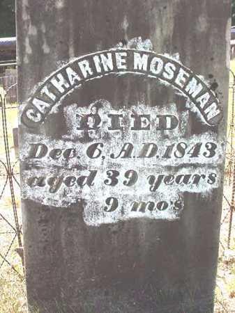 MOSEMAN, CATHARINE - Warren County, New York | CATHARINE MOSEMAN - New York Gravestone Photos
