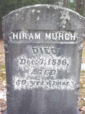 MURCH, HIRAM - Warren County, New York | HIRAM MURCH - New York Gravestone Photos