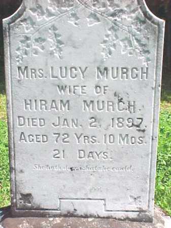 MURCH, LUCY - Warren County, New York   LUCY MURCH - New York Gravestone Photos