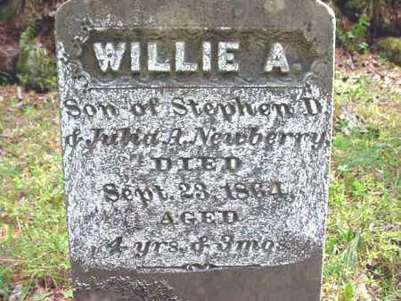 NEWBERRY, WILLIE A - Warren County, New York | WILLIE A NEWBERRY - New York Gravestone Photos
