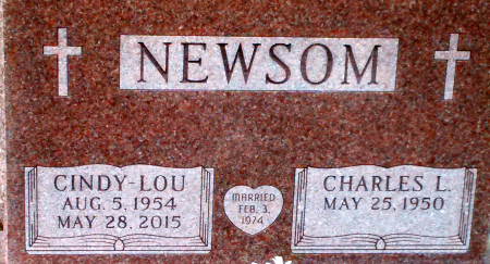 CHAPMAN NEWSOM, CINDY-LOU - Warren County, New York | CINDY-LOU CHAPMAN NEWSOM - New York Gravestone Photos