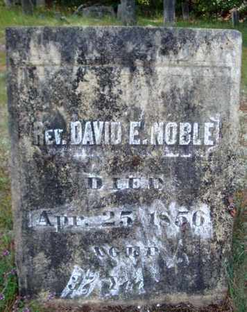 NOBLE, DAVID E - Warren County, New York | DAVID E NOBLE - New York Gravestone Photos