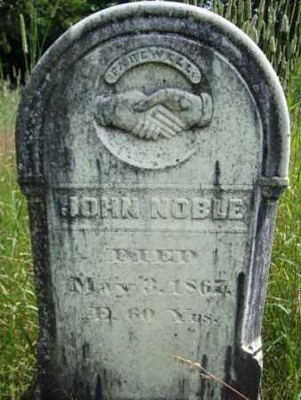 NOBLE, JOHN - Warren County, New York | JOHN NOBLE - New York Gravestone Photos