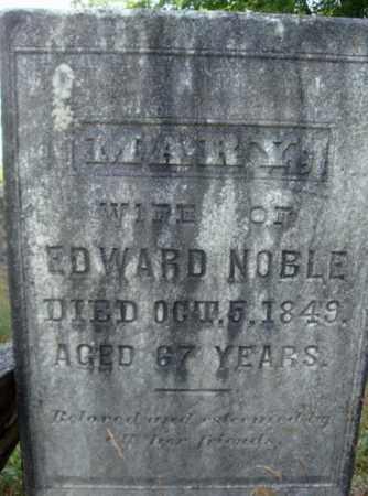NOBLE, MARY - Warren County, New York | MARY NOBLE - New York Gravestone Photos