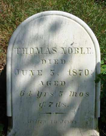 NOBLE, THOMAS - Warren County, New York | THOMAS NOBLE - New York Gravestone Photos