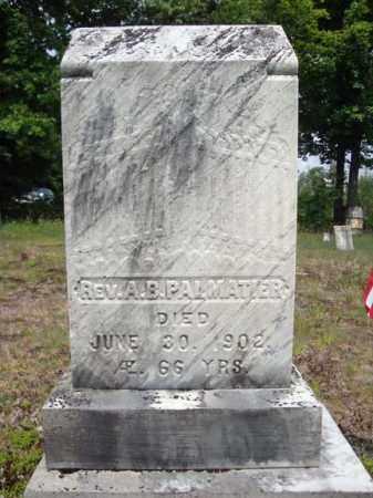PALMATIER, A B - Warren County, New York | A B PALMATIER - New York Gravestone Photos
