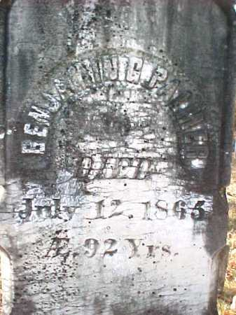 PALMER, BENJAMIN G - Warren County, New York | BENJAMIN G PALMER - New York Gravestone Photos
