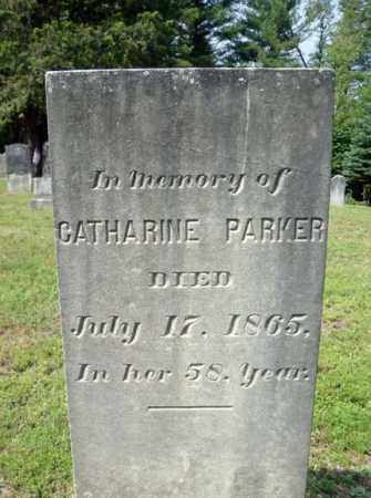 PARKER, CATHARINE - Warren County, New York | CATHARINE PARKER - New York Gravestone Photos