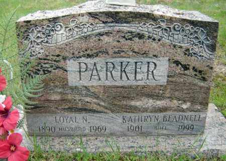 PARKER, KATHRYN - Warren County, New York | KATHRYN PARKER - New York Gravestone Photos