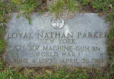 PARKER, LOYAL NATHAN - Warren County, New York | LOYAL NATHAN PARKER - New York Gravestone Photos