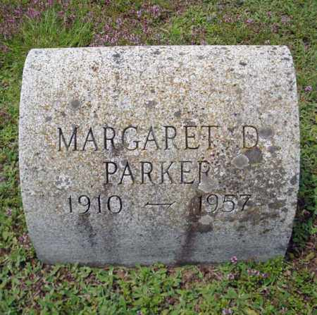 PARKER, MARGARET D - Warren County, New York | MARGARET D PARKER - New York Gravestone Photos