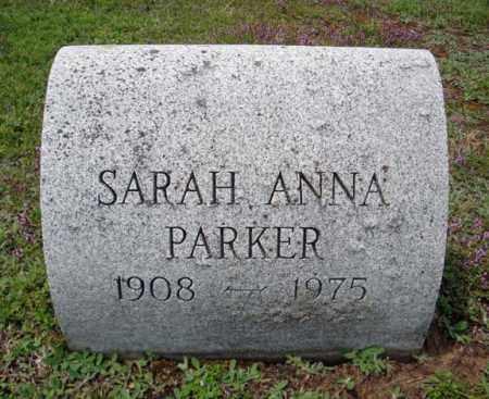 PARKER, SARAH ANNA - Warren County, New York | SARAH ANNA PARKER - New York Gravestone Photos
