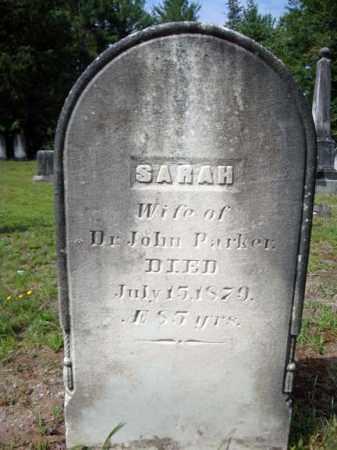 PARKER, SARAH - Warren County, New York   SARAH PARKER - New York Gravestone Photos