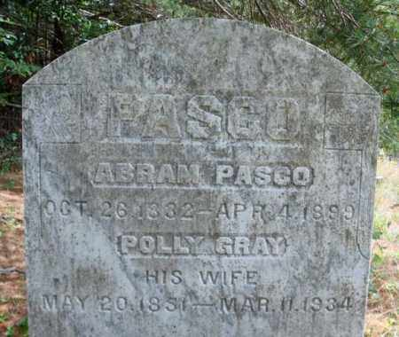 GRAY PASCO, POLLY - Warren County, New York | POLLY GRAY PASCO - New York Gravestone Photos